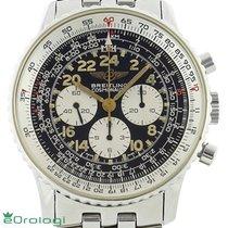 Breitling Navitimer Cosmonaute usato 41mm Nero Cronografo Acciaio