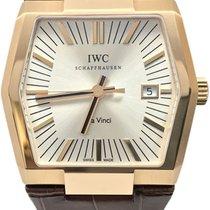 IWC Da Vinci Automatic Pозовое золото 41mm Cеребро Без цифр