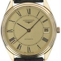 Longines Yellow gold 34mm Automatic pre-owned