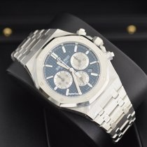 Audemars Piguet Royal Oak Chrono Blue Dial RARE Stickers [NEW]
