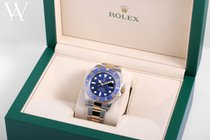 Rolex Submariner Date 116613-BLUE-2017-BNP 2014 pre-owned