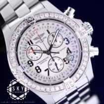 Breitling Avenger Seawolf Steel 45mm White Arabic numerals United States of America, New York, NEW YORK