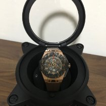 Hublot Rose gold 45mm Automatic 401.OJ.0123.VR pre-owned Singapore, 730609