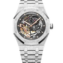 Audemars Piguet Royal Oak Double Balance Wheel Openworked 15407BC.GG.1224BC.01 2019 новые