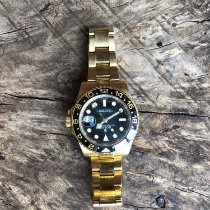 Rolex 116718LN Yellow gold 2015 GMT-Master II 40mm pre-owned