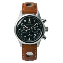 IWC Pilot Chronograph Steel 40mm Black Arabic numerals United States of America, New York, New York