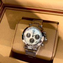 Cartier Pasha C new Automatic Chronograph Watch with original box and original papers W31048M7