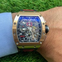 Richard Mille RM 011 Roségold 50mm Transparent
