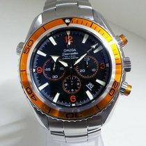 Omega Seamaster Planet Ocean Chronograph Steel 45mm Black