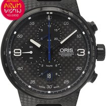 Oris Carbon Automatic Black 44mm pre-owned Williams F1