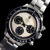 Rolex Daytona Steel 38mm White No numerals