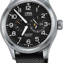 Oris Big Crown ProPilot Worldtimer Steel 44.7mm Black United States of America, New York, Airmont