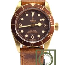 Tudor Black Bay Bronze Brons 43mm Brun Arabiska