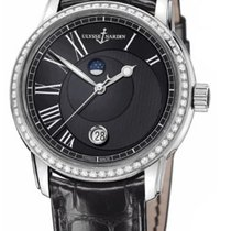 Ulysse Nardin 8293-122B-2/422 Classico Luna 40mm in Steel with...