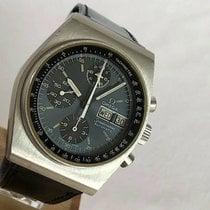 Omega Speedmaster Date Stahl 40mm Grau