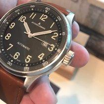 Jacques Lemans Geneve Swiss Automatic 1-1039 50mm Black Dial