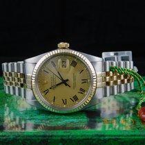 Rolex Datejust-Römisches-Blatt-Top-Zustand-16013