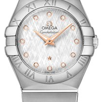 Omega Constellation Ladies Diamond 123.10.27.60.52.001