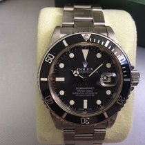 Rolex Submariner Date 16800 transitional   Stainless  / Vintage