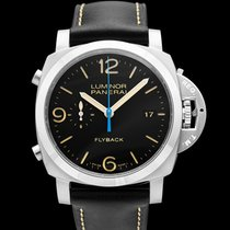 Panerai Luminor 1950 3 Days Chrono Flyback new Steel