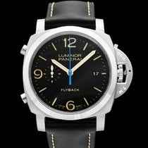Panerai Luminor 1950 3 Days Chrono Flyback Steel 44mm Black United States of America, California, San Mateo