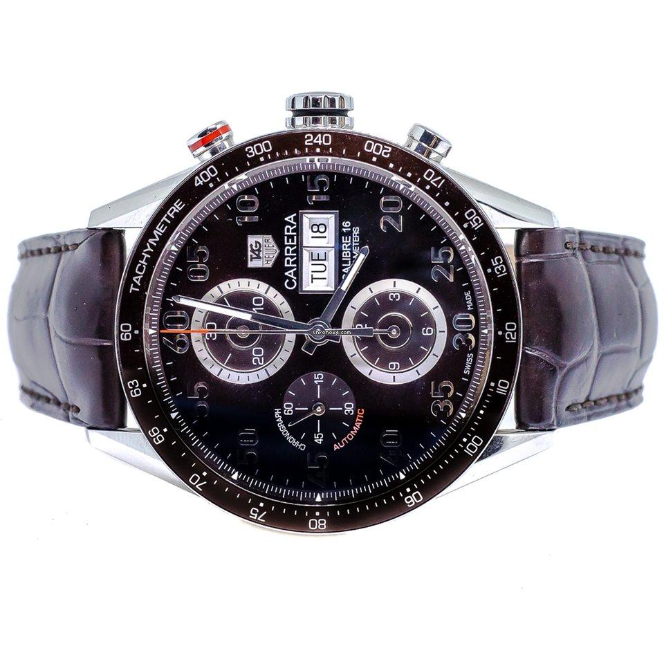 d5b717cfc21 TAG Heuer Carrera Calibre 16 - Todos os preços de relógios TAG Heuer Carrera  Calibre 16 na Chrono24