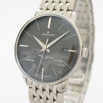 Junghans Meister MEGA neu 2020 Quarz Uhr mit Original-Box und Original-Papieren 058/4803.44