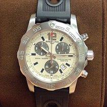 Breitling Colt Chronograph II Stahl 44mm Silber Keine Ziffern