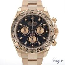 Rolex Daytona použité 40mm Růžové zlato