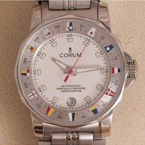 Corum Chronometer 38mm Automatisch tweedehands Admiral's Cup (submodel) Wit