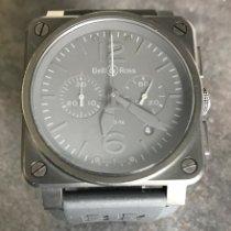 Bell & Ross BR 03-94 Chronographe Acier 42mm Noir Arabes France, Lyon
