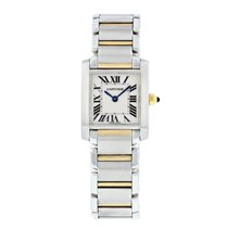 Cartier Tank Francaise 2384 Two Tone Small Watch