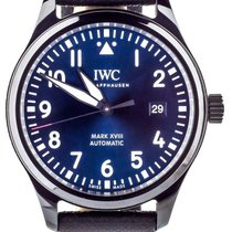 IWC Ceramic Automatic Blue 40mm pre-owned Pilot Mark