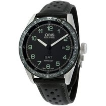 Oris Calobra Steel 44mm Black Arabic numerals United States of America, New York, Brooklyn