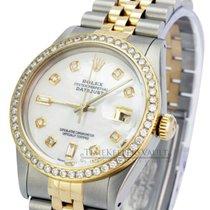 Rolex 16013 Zlato/Zeljezo Datejust 36mm rabljen