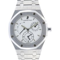 Audemars Piguet 25730ST Stål Royal Oak Dual Time 36mm begagnad