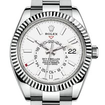 Rolex Sky-Dweller Steel 42mm White No numerals United States of America, New Jersey, Woodbridge