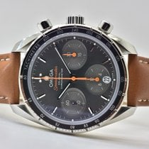 Omega Speedmaster Reduced Aço 38mm Cinzento Sem números