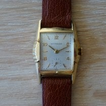 Wittnauer Or jaune 37mm Remontage manuel occasion