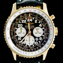 Breitling Navitimer Cosmonaute Or rose 41mm Noir Arabes