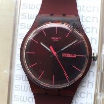 Swatch Kunststoff 40mm Quarz SUOR702D neu Schweiz, Neuchatel