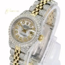 Rolex Lady-Datejust Gold/Steel 26mm Champagne No numerals United States of America, California, Sherman Oaks