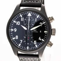 IWC Pilot Chronograph Top Gun Céramique 44mm Noir Arabes