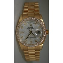 Rolex President Day-Date 118348 Men's 18K Yellow Gold New...