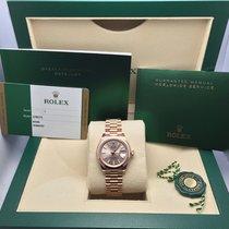 Rolex Roodgoud Automatisch Geen cijfers 28MMmm nieuw Lady-Datejust