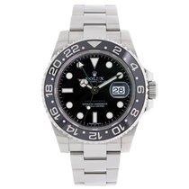 Rolex GMT MASTER II  Black Ceramic Stainless Steel Watch