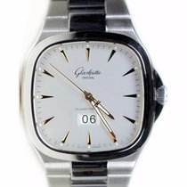 Glashütte Original Seventies Panorama Date 2-39-47-11-12-14 Glashutte Vintage Acciaio Quadrante Bianco new