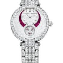 Harry Winston Premier Diamond Second 18K White Gold, Pink...