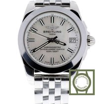 Breitling Galactic 36mm Sleek T Mother Of Pearl Dial NEW