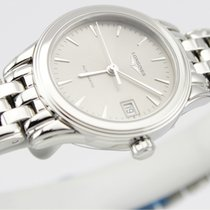 Longines FLAGSHIP Auto Date Full Steel Silver Dial 26mm L42744726